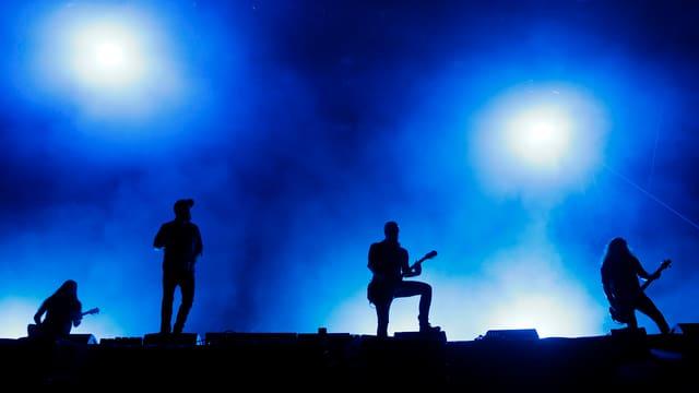 La band da matel da la Svezia In Flames.