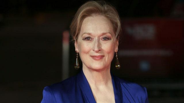 Schönes Porträtbild von Meryl Streep