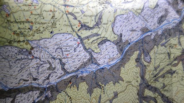 In extract da la carta geologica.