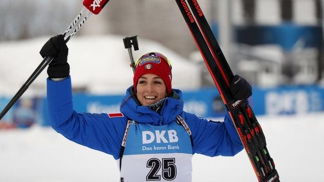 La biatleta Lisa Vittozzi.