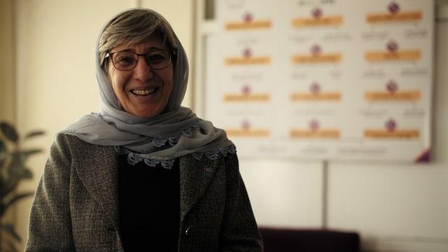 Sima Samar ist eine afghanische Frauen- und Menschenrechtsanwältin.