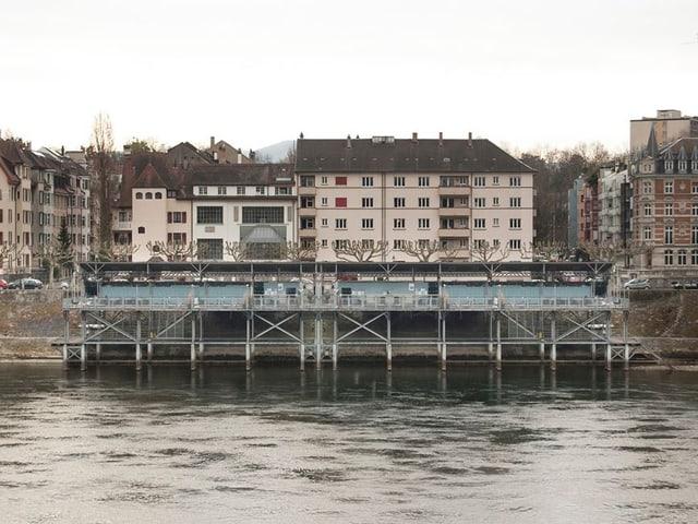 Rheinbad von Vorne