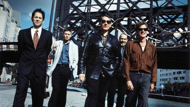 Die Band Tuxedomoon in Paris.