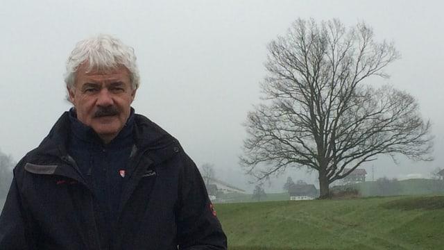 Der Obwaldner Kantonsoberförster Peter Lienert