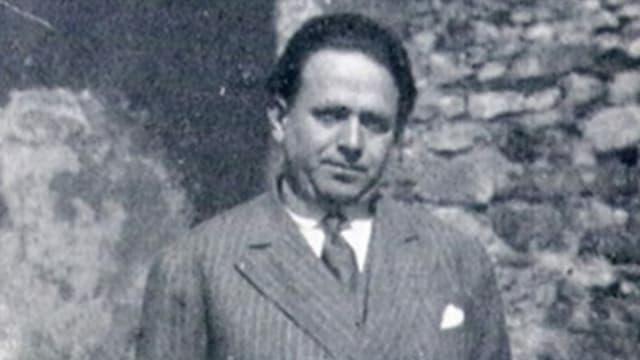 Schwarzweiss Foto von Kurt Tucholsky im Jahr 1928