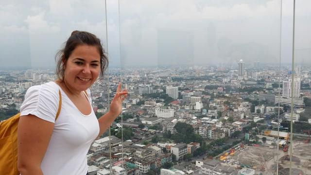 Jessica Caprez a Bangkok.