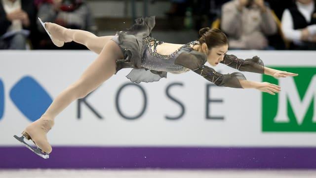 Kim Yu-Na: Die Südkoreanerin holte ihren 2. WM-Titel.
