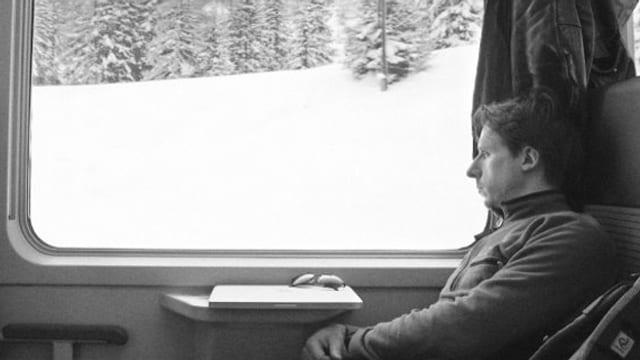 Wintergast: Unser Film der Woche zeigt die Schweiz in schwarz-weiss.