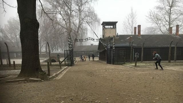 Das Tor zu Auschwitz.