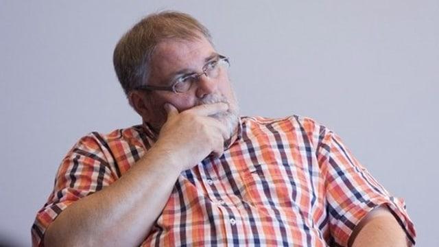 Der verstorbene Obwaldner Verleger Martin Wallimann