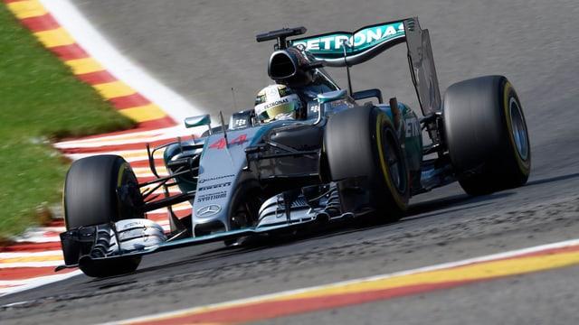 Hamilton feiert seinen 39. Karriere-Sieg.