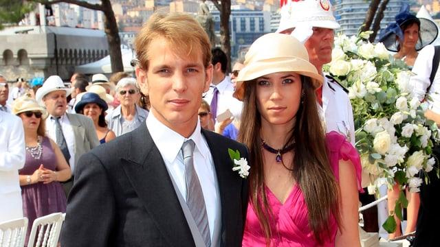 Andrea Casiraghi und Tatiana