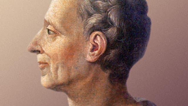 Montesquieu im Profil