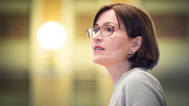 Regula Rytz, Parteipräsidentin der Grünen.