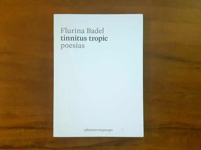 La collecziun da poesias «tinnitus tropic» raduna 50 poesias, edidas da la chasa editura editionmevinapuorger l'onn passà.