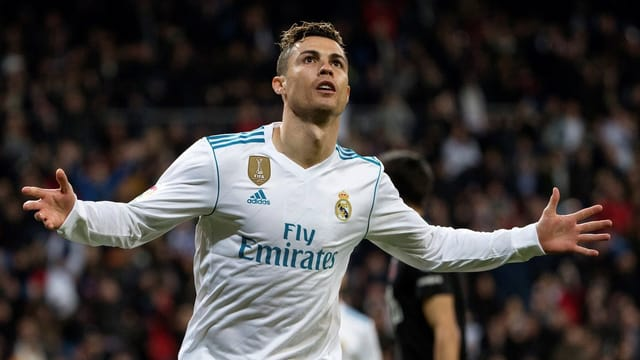 Purtret da Cristiano Ronaldo.