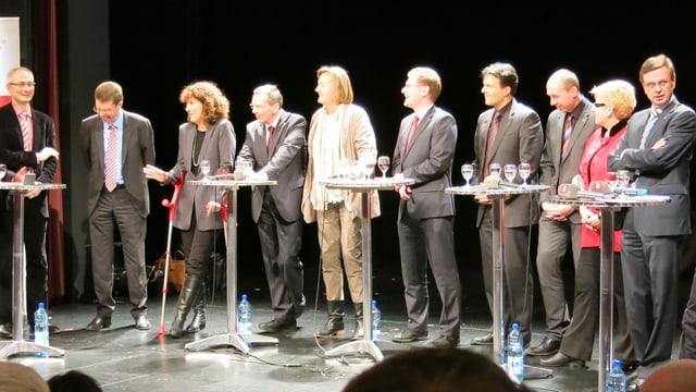 Bernhard Pulver, Andreas Rickenbacher, Barbara Egger, Philippe Perrenoud, Barbara Mühlheim, Christoph Neuhaus, Marc Jost, Manfred Bühler, Beatrice Simon, Hans-Jürg Käser.