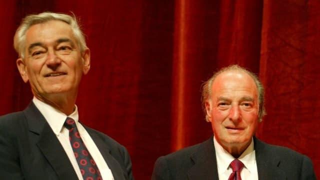 Georg Stucky und Marc Rich im Jahr 2002