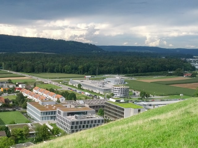 Heutiger Hero-Hauptsitz in Lenzburg