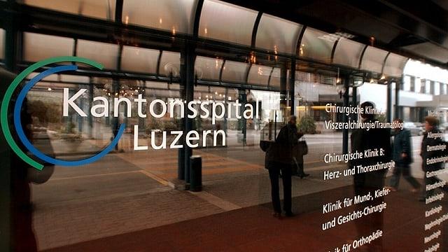 Türe Kantonsspital Luzern
