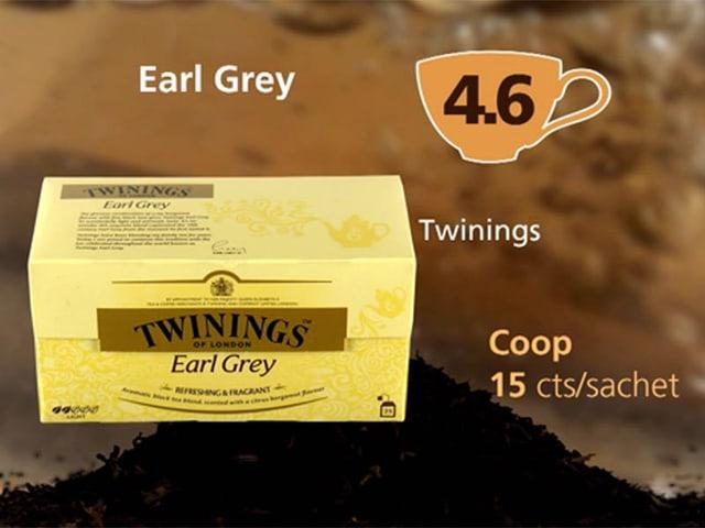Earl Grey Twinings von Coop, Punktzahl 4,6
