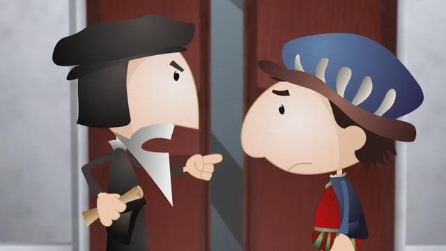 Video «Helveticus: Calvin und die Uhren- und Schmuckindustrie (10/26)» abspielen