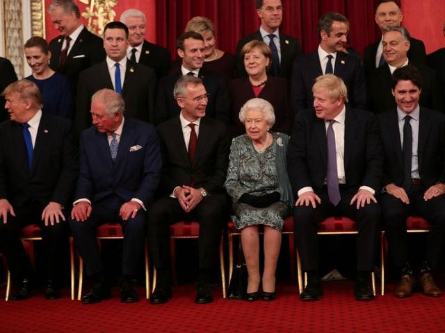 Gruppenbild mit Queen.