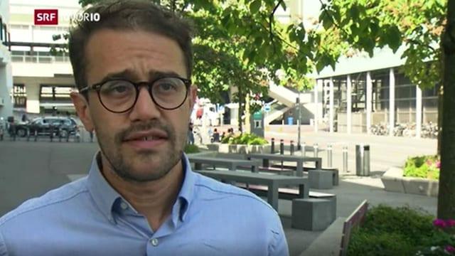 David Roth Zentralsekretär Gewerkschaft Syndicom.