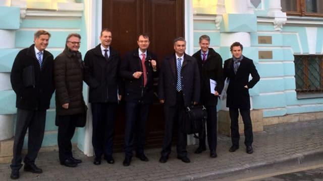 Die Luzerner Vertretung an der Moskau-Reise vom November 2013