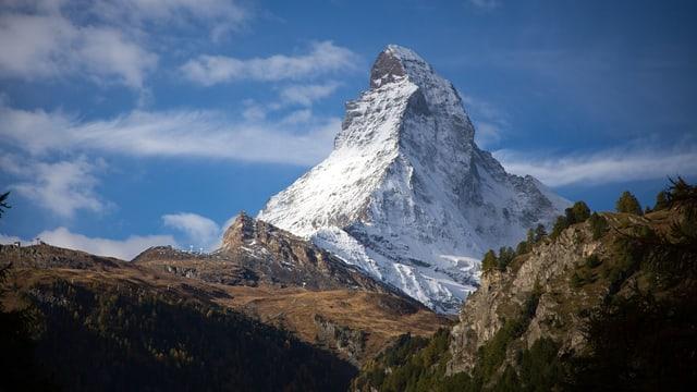 Vista sin Matterhorn.