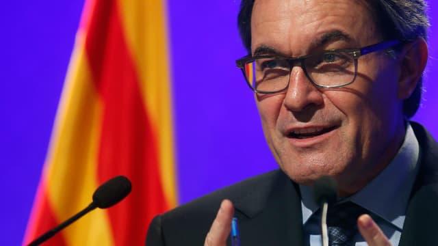 Arthur Mas, Regierungschef von Katalonien.