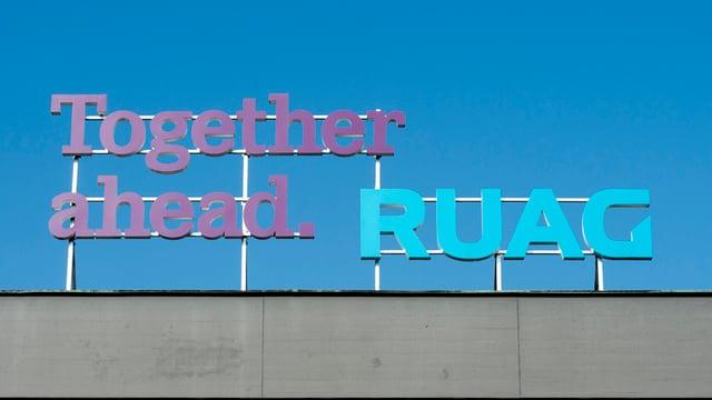 Logo da Ruag.