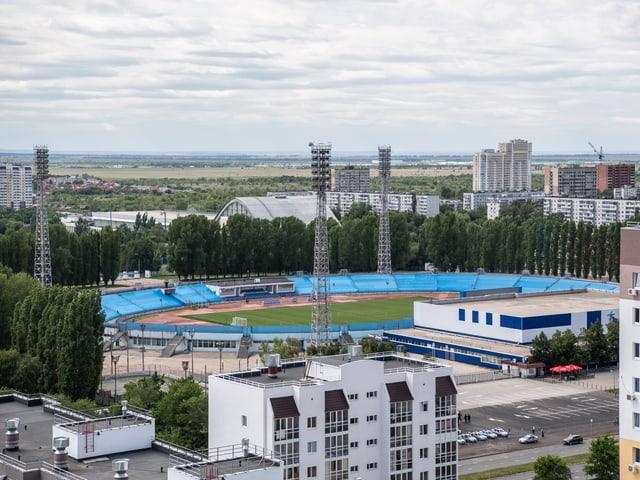 Das Torpedo-Stadion.