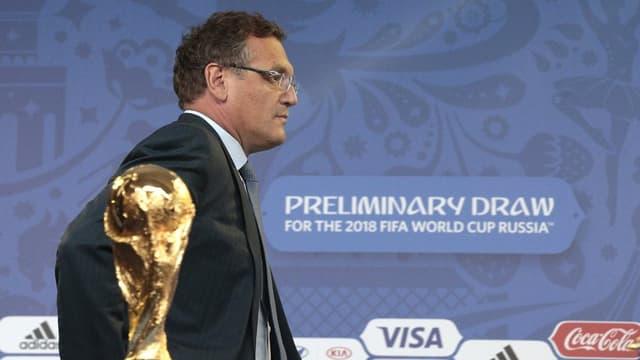 L'anteriur secretari general da la FIFA, Jérôme Valcke.