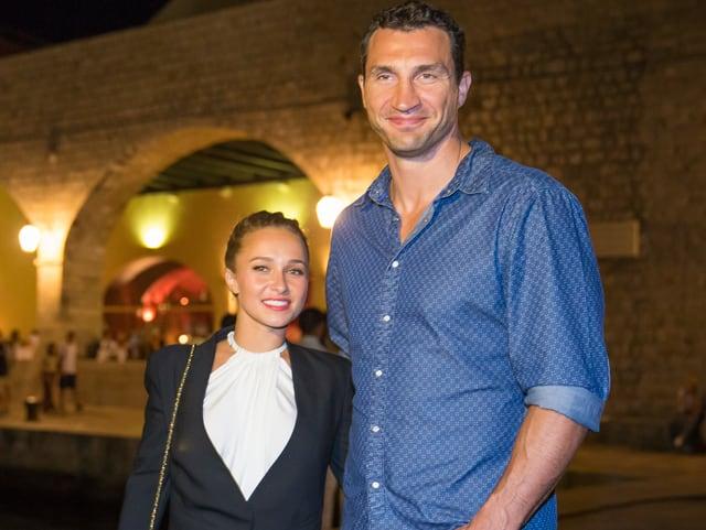 Hayden Panettiere und Wladimir Klitschko.