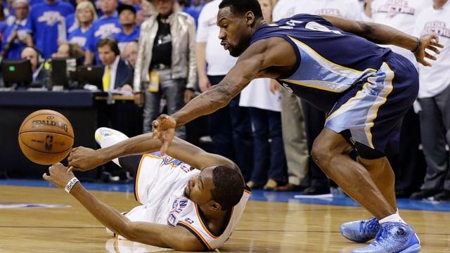 Für Kevin Durant und Oklahoma setzte es eine Heimniederlage ab.