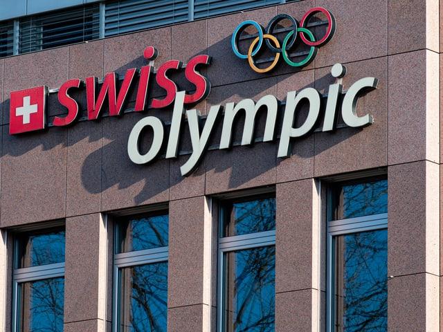 Das Haus von Swiss Olympic.