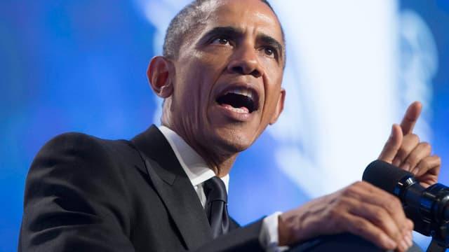 Obama redet