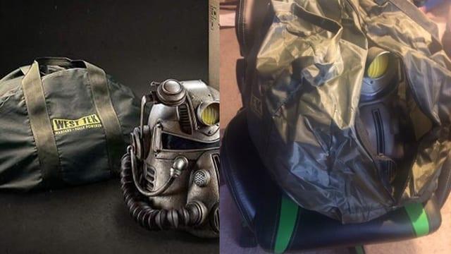 Erst war die Tasche aus Nylon, anstatt aus einem hochwertigen Segeltuch. Später waren auch diverse Helme mit Schimmel befallen.