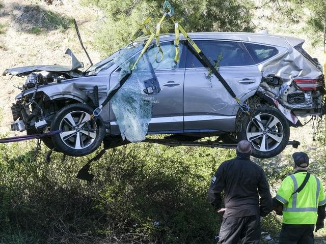 Das Auto von Tiger Woods.