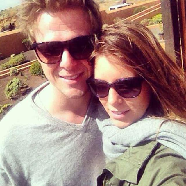 Annina Campell und ihr Mann Marc Müller