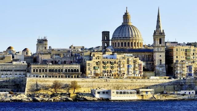 Stadtbild von Valletta