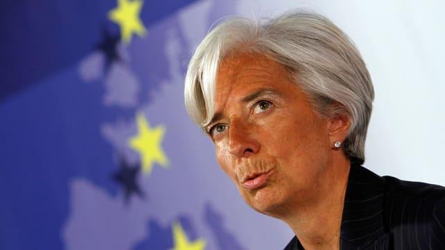 Christine Lagarde, la scheffa dal Fond monetar internaziunal.