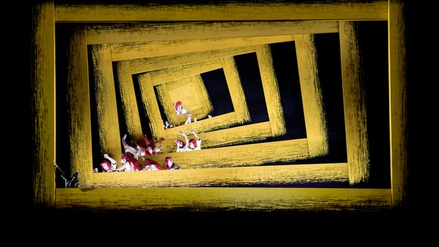 Bühnenbild aus «Wozzeck», Opernhaus Zürich