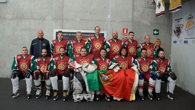 Squadra nationala da hockey portugaisa
