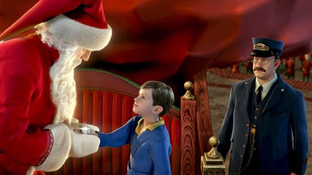 Szene aus dem Film «Polar Express»