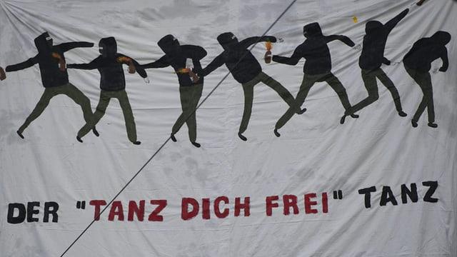 Transparent am «Tanz dich frei»