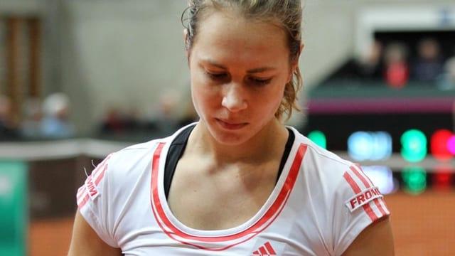 Stefanie Vögele ist in Memphi im Halbfinale ausgeschieden.
