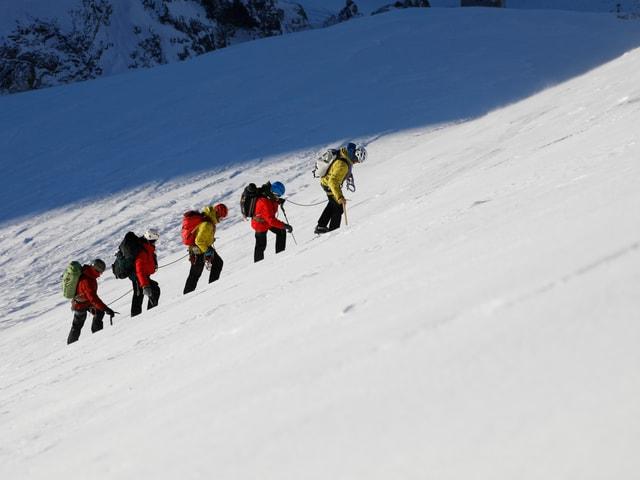 Aufstieg Piz Bernina