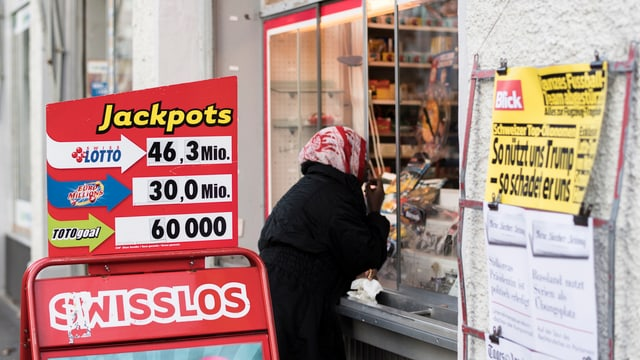 Sonda proxima: jackpot enturn 50 milliuns francs.